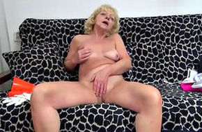 Submissive granny