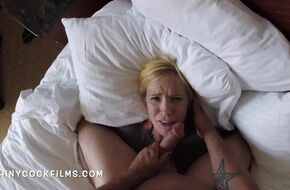 Mom son creampies