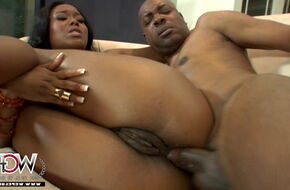 Black african anal