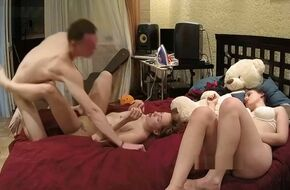 Wife swapping foursome